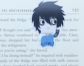 Death Note - Magnetic bookmark - L || anime | manga lover gifts | bookmark | bookish | bookmarks | light yagami | magnetic bookmarks