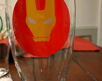 Iron Man Beer Glass