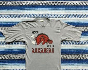 Vintage Arkansas Shirt - Hog Wild