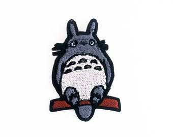 Totoro Patch, Studio Ghibli Patch, My Neighbor Totoro Patch, Animated Film Patch