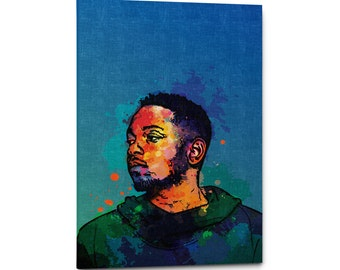 Kendrick Lamar Canvas Wall Art Print