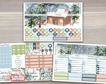 December Monthly Planner Kit || #1