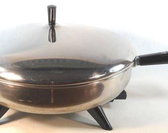 "Vintage 12"" Farberware Electric Fry Pan Model 310-A"