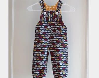 Toddler Romper - Baby Romper - Baby Overalls - Toddler Overalls - Floral Baby Romper - Baby Jumpsuit - Spring Romper - Baby Bodysuit