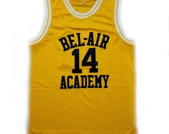 The Fresh Prince Of Bel Air Academy Jersey Inspired By Smith #14 Vintage