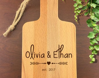 Personalized Serving Board - Laser Engraved - Custom Cutting Board - Cheese Tray - Serving Tray - Personalized Gift - Cutting Board - Gift