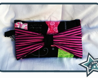 Bow pocket - size phone + shoulder handle included