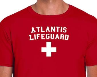Atlantis Lifeguard T Shirt