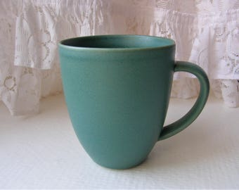 Arabia Finland: 24h Series Green Two Mugs And A Bowl, Designed By Heikki Orvola