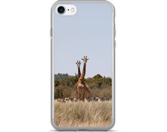 Giraffe Phone Case, Giraffe iPhone 7 Case, iPhone 7 Plus Case, iPhone 6s Case, iPhone 6s Plus Case, iPhone 6 Plus Case, Galaxy S8 Case, LG