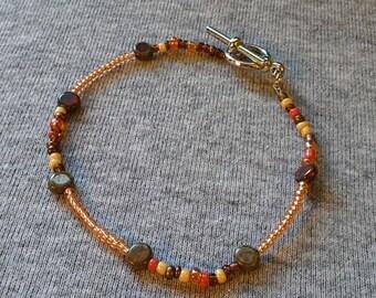 Dainty Autumn bracelet