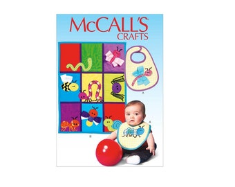 McCall's 7172 - Bib, Quilt, and Bug Appliques Pattern