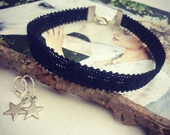 Choker Lace black