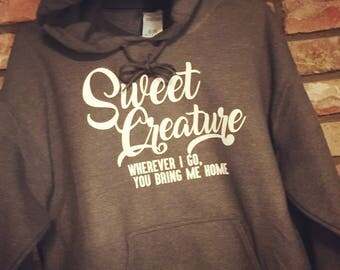 Sweet Creature Harry Styles Hoodie-Sign of the Times-NEW! 2017