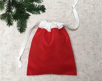 smallbag Christmas - felt & cotton bag