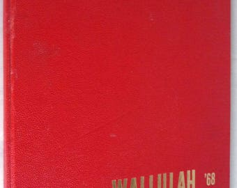 Willamette University Yearbook (Annual) 1968 - Wallulah Volume 58 - Salem Oregon OR Marion County