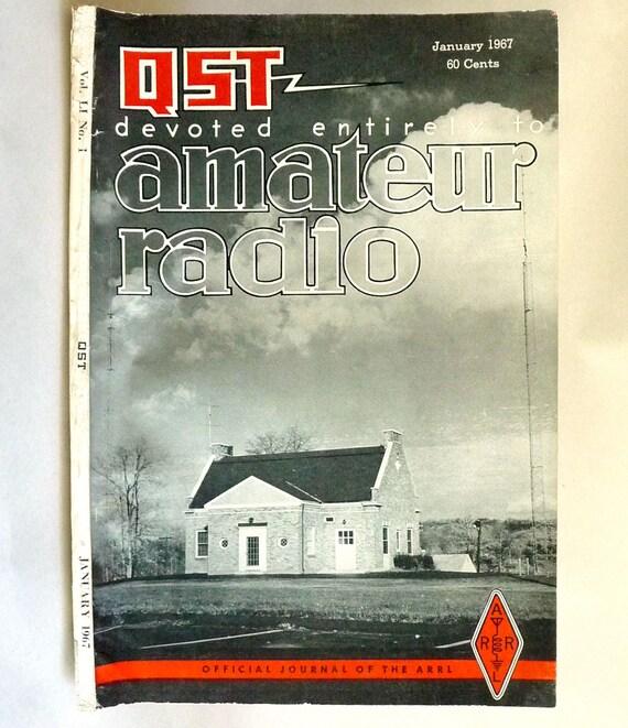 QST: Devoted Entirely to Amateur Radio Volume LI, Number 1, January 1967 Magazine