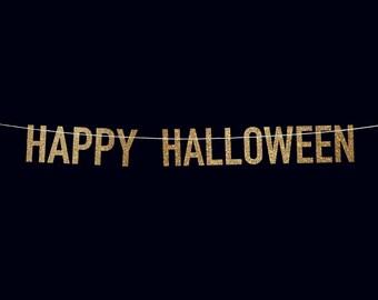 Halloween banner | Etsy