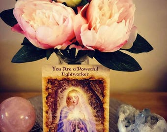1 Weeks Daily Angel Card Readings , Spirit Guided by Reader of 28 years experience