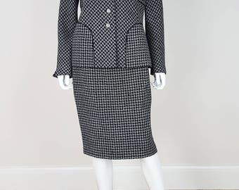 ESCADA COUTURE Vintage Skirt Suit (40)