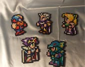 Final Fantasy 4 Sprites - Perler Bead Art