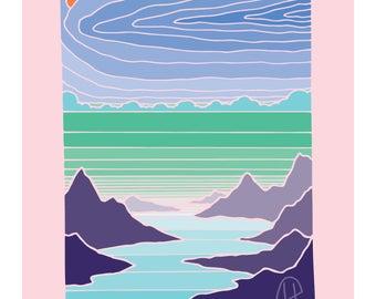 Mountains to Sea- Insane in the Grain series
