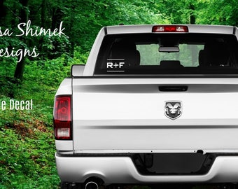 Rodan and Fields Outdoor Vehicle Decal