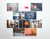 """Postkartenset """"Singularitäten"""", 10 verschiedene Motive pro Set"""