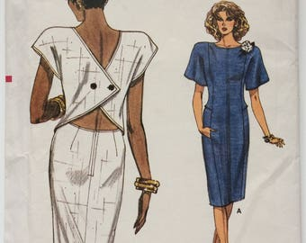 Vintage Very Easy Vogue sewing pattern 9012 - Misses' dress - size 14-16-18