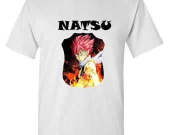 Fairy Tail Natsu T-Shirt Inspire anime Fairy Tail Unisex T-Shirt