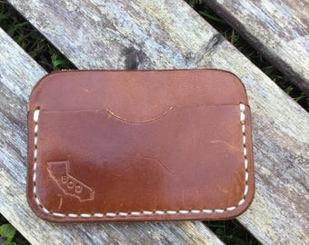 Minimalist Wallet - Wickett and Craig Harness Leather