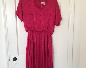 Vintage Diane Von Furstenburg Silk Dress