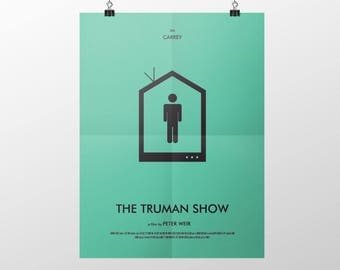 Movie Poster - The Truman Show - Decorative Digital Art
