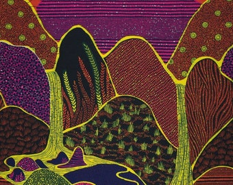 VLISCO Wax Print - sold by the yard