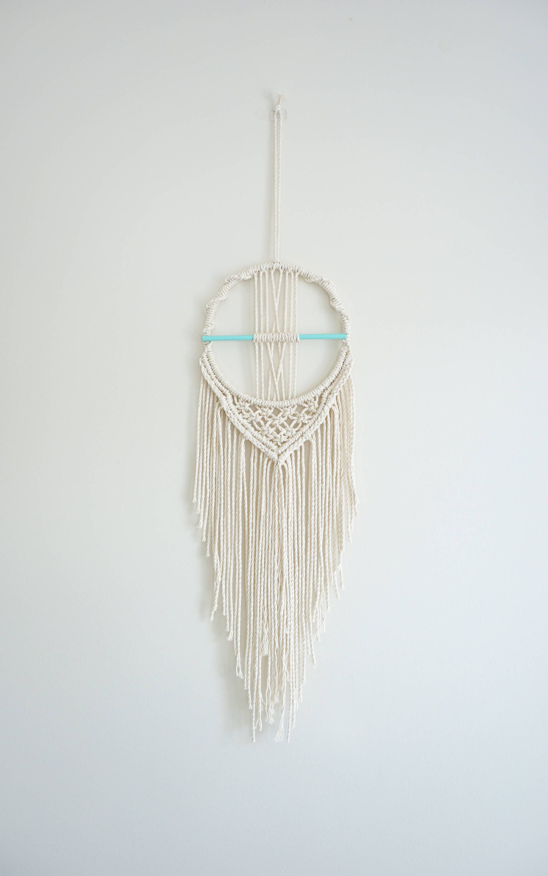 macrame catchers macrame catcher small wall hanging modern nursery 7308