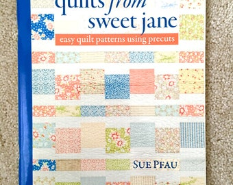 Easy Quilt Patterns Using Precuts : Easy quilt pattern Etsy