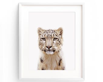 Leopard Print, Safari Nursery Print, Large Cat Poster, Cat Printable, Animal Nursery Print, Leopard Wall Art, Animal Print, Cat Print