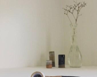 CUCKOO | Black & White Ceramic Smoking Pipe