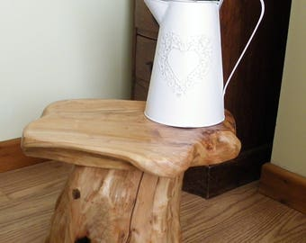 Stunning wood root tree side tables or even a stool. Handmade unique