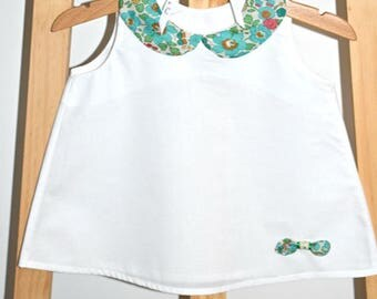 Dress baby girl - Liberty - trapeze dress