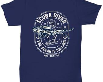 Scuba Driver Dive Team 1999 T-shirt