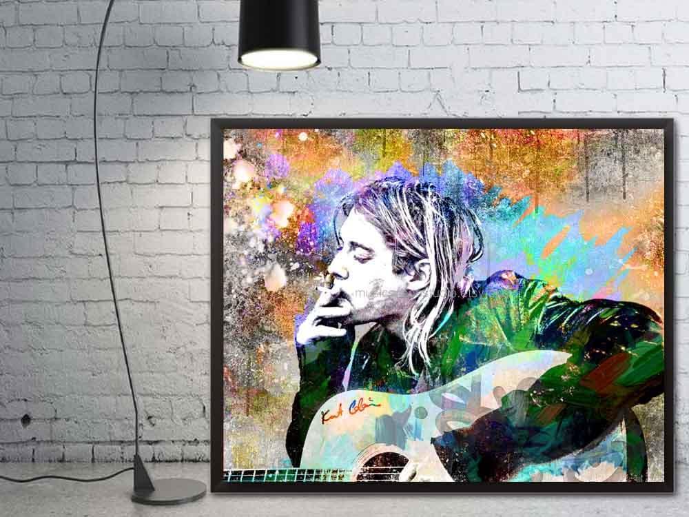Nirvana Kurt Cobain Kurt Cobain Art Grunge Art Music  Grunge