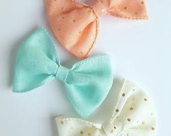 Sparkle bows, Polka dot sparkle bows, bows, headbands, baby headbands, infant headbands, baby bows, toddler bows, hair accessories
