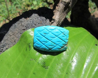 Turquoise Carving from Nacozari. S1085