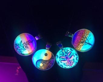 Four Fluorescent Pendants Combo Pack