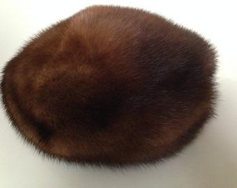 -Your Sixth Sense - vintage mink beret