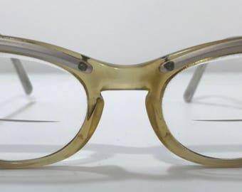 1950's | Cat Eye Glasses | with lenses
