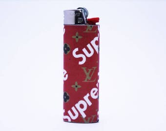 Supreme X Louis Vuitton Bic Lighter - Handmade - High Quality - Rare