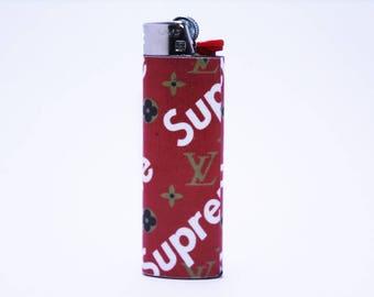 Supreme X Louis Vuitton Bic Lighter - Handmade - High Quality - Rare