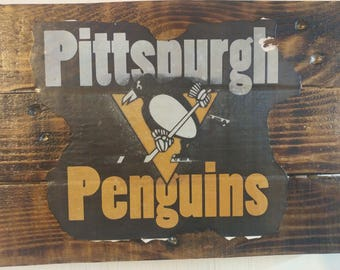 Custom NHL sign art for your Man Cave!! - Hurricanes, Blue Jackets, Devils, Islanders, Rangers, Flyers, Penguins, Capitals, Bruins, Sabres